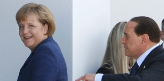 Merkel Berlusconi