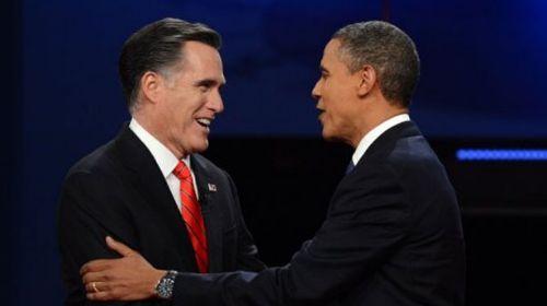Romney si Obama