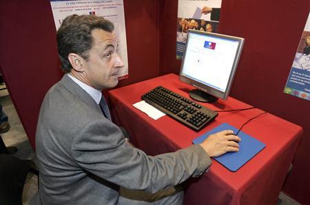Sarkozy-Computer