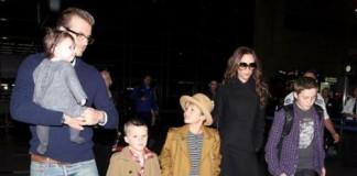 Familia Beckham este întotdeauna la modă