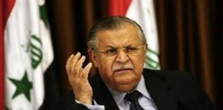 Starea de sănătate a a președintelui irakian se îmbunătățește, după un atac cerebral