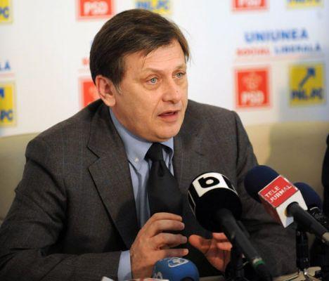 Crin Antonescu și-a exprimat dreptul la vot