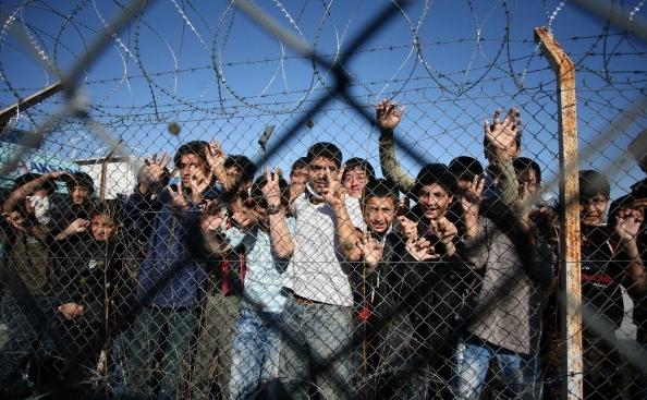 Grecia a construit un zid la granița cu Turcia pentru a opri imigranții
