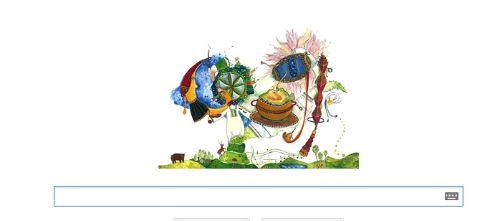 1 decembrie logo google Romania