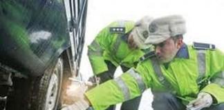 Peste 100 de șoferi au fost amendați în prima zi de Crăciun