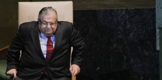 Președintele irakian, spitalizat la Bagdad