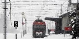 Trenuri anulate din cauza viscolului