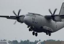 Aeronava militară cu trupurile celor doi români decedaţi în Algeria a ajuns în ţară