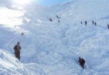 Un sat a fost acoperit complet de o avalanșă în Turcia