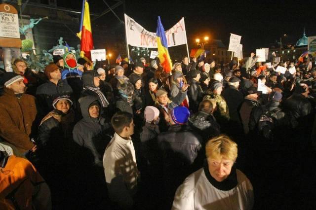 Un an de la protestele din Piaţa Universităţii