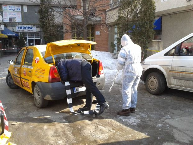 Taximetrist omorât de un client în Timisoara