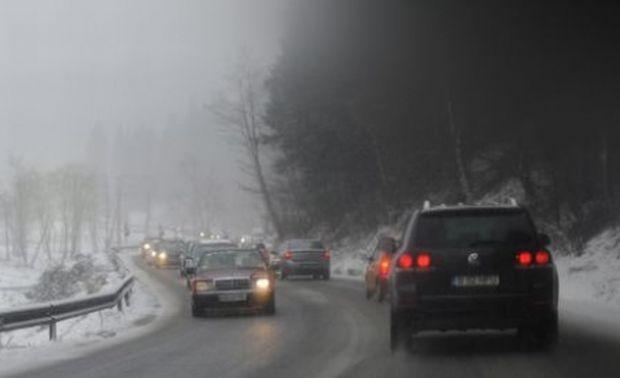 DN 1, aglomerat din nou pe Valea Prahovei