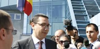 Ponta vrea alegeri prezidențiale devansate cu șase luni