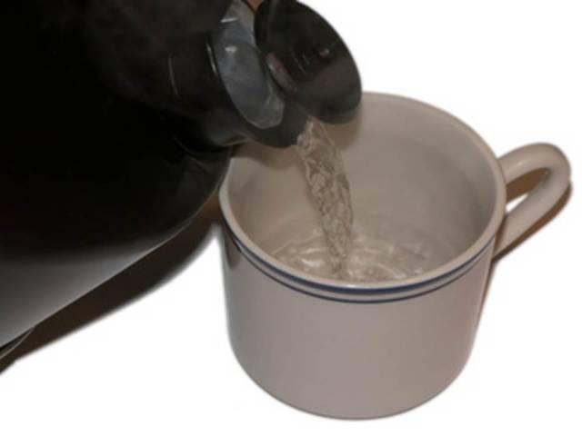 Dieta cu apă caldă