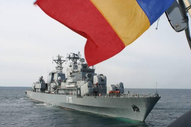 Flota Marinei Militare Române poartă straie de sărbătoare