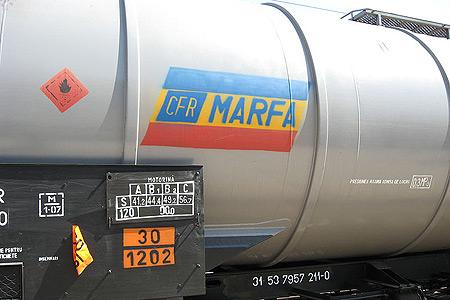 Control la CFR Marfă