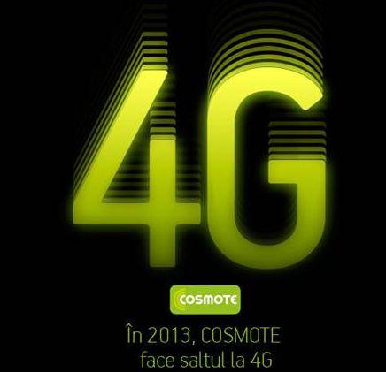 Cosmote România va oferi servicii 4G, de la finalul lunii aprilie