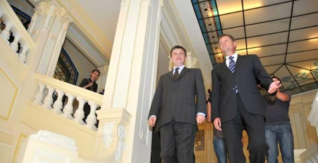 Antonescu si Iohannis