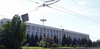 Moţiune de cenzură împotriva guvernului de la Chişinău