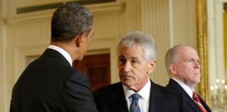 Numirea lui Chuck Hagel la Pentagon, blocată temporar