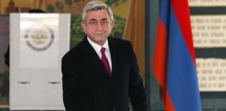 Serge Sarkisian reales la președinția Armeniei