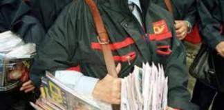 Poștașii protestează