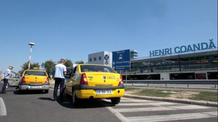Peste 30 de amenzi aplicate taximetriştilor din zona Aeroportului Otopeni, în două ore