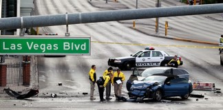 Trei morţi şi șase răniţi într-un schimb de focuri la Las Vegas