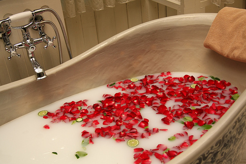 Relaxare în baie