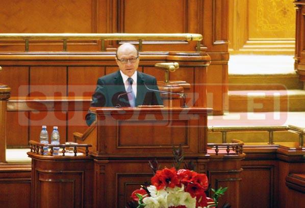 Basescu Parlament