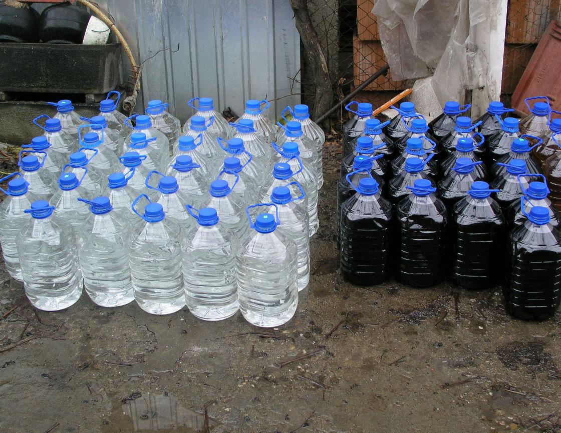 Botoşani: Peste 10 tone de alcool, confiscate