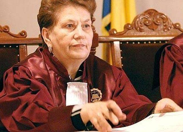 Aspazia Cojocaru, înlocuită la Curtea Constituțională până pe 30 martie