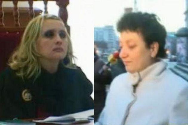 Judecătoarele Viorica Dinu şi Antonela Costache rămân în arest