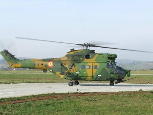 Elicopter militar prăbușit la Bacău