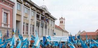 Demonstrații pentru autonomia Ținutului Secuiesc în Europa și SUA