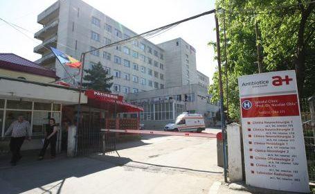 Taxă interzisă la Spitalul de Neurochirurgie din Iași : 50 de lei pentru internare