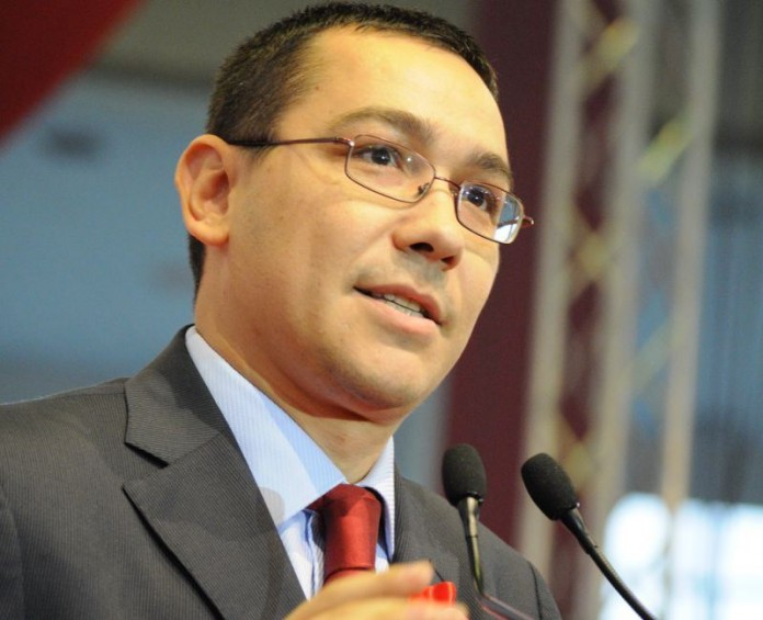 Ponta: Guvernul îşi va angaja răspunderea pe legea proprietăţii