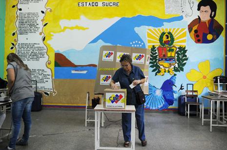 Alegeri prezidenţiale în Venezuela, la 14 aprilie