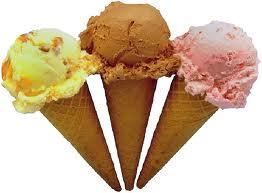 Înghețata savuroasă