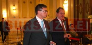 Vasile Blaga si Mihai Ungureanu