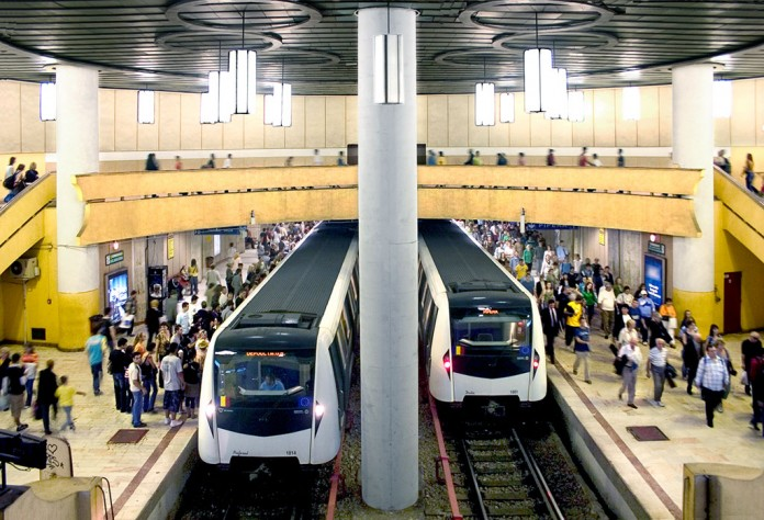 Metroul va circula la intervale de 20 de minute în noaptea de Înviere