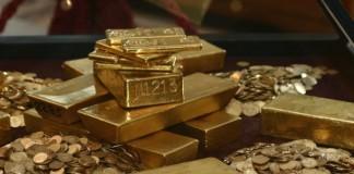 Cotația aurului, la minimul ultimelor 21 de luni. Metalul s-a ieftinit cu 9% într-o singură zi