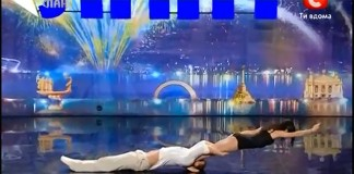 Un dans senzational al dragostei care a uimit publicul si juriul la Ukraine's Got Talent 2013