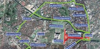Bulevardele Libertății și Unirii din Capitală, închise în weekend