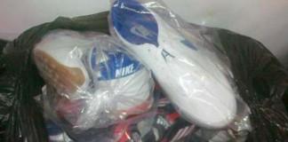 Cămăși Armani și adidași Nike, confiscate la Constanța, donate de Mitropolie familiilor nevoiaşe