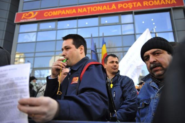 Lucrătorii poştali vor ieşi în stradă după 12 mai cerând protejarea locurilor de muncă