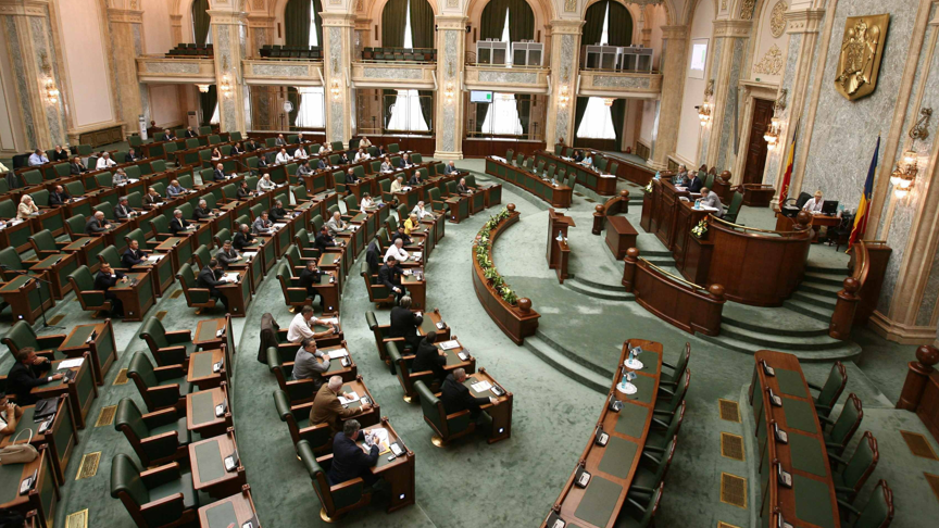 Senatul a adoptat proiectul de lege privind statutul cadrelor militare, trimis la reexaminare