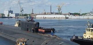 Rusia va testa al treilea submarin din clasa Borei