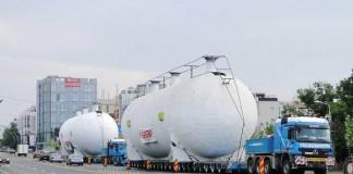 CNADNR: Două transporturi agabaritice, efectuate între Bucureşti şi Borş în perioada 22 - 25 aprilie