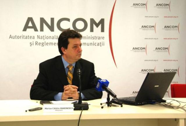 Cătălin Marinescu, președintele ANCOM